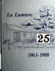 Page 1, 1988 Edition, La Lumiere High School - Lamplighter Yearbook (La Porte, IN) online yearbook collection