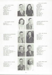 Page 13, 1950 Edition, Winslow High School - Eskimo Yearbook (Winslow, IN) online yearbook collection