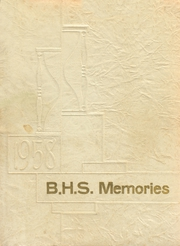 Page 1, 1958 Edition, Bicknell High School - Memories Yearbook (Bicknell, IN) online yearbook collection