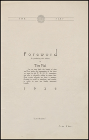 Page 7, 1926 Edition, Fort Branch High School - Key Yearbook (Fort Branch, IN) online yearbook collection