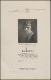 Page 8, 1926 Edition, Fort Branch High School - Key Yearbook (Fort Branch, IN) online yearbook collection