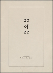 Page 5, 1927 Edition, Fort Branch High School - Key Yearbook (Fort Branch, IN) online yearbook collection