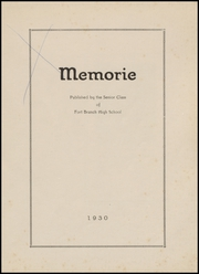 Page 3, 1930 Edition, Fort Branch High School - Key Yearbook (Fort Branch, IN) online yearbook collection
