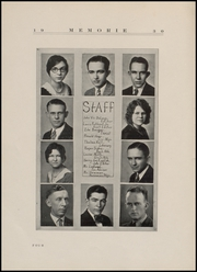 Page 6, 1930 Edition, Fort Branch High School - Key Yearbook (Fort Branch, IN) online yearbook collection