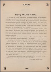 Page 17, 1942 Edition, Fort Branch High School - Key Yearbook (Fort Branch, IN) online yearbook collection