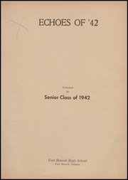 Page 7, 1942 Edition, Fort Branch High School - Key Yearbook (Fort Branch, IN) online yearbook collection