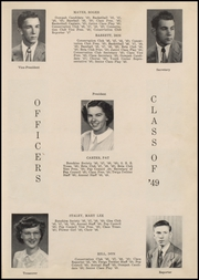 Page 13, 1949 Edition, Fort Branch High School - Key Yearbook (Fort Branch, IN) online yearbook collection