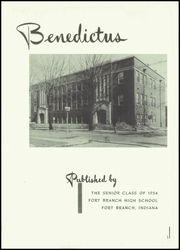 Page 5, 1954 Edition, Fort Branch High School - Key Yearbook (Fort Branch, IN) online yearbook collection