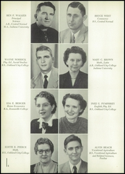 Page 8, 1954 Edition, Fort Branch High School - Key Yearbook (Fort Branch, IN) online yearbook collection