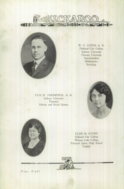 Page 12, 1926 Edition, Owensville High School - Kickapoo Yearbook (Owensville, IN) online yearbook collection