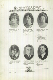Page 14, 1926 Edition, Owensville High School - Kickapoo Yearbook (Owensville, IN) online yearbook collection