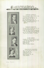 Page 16, 1926 Edition, Owensville High School - Kickapoo Yearbook (Owensville, IN) online yearbook collection