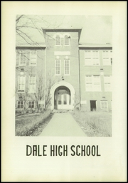 Page 8, 1952 Edition, Dale High School - Memories Yearbook (Dale, IN) online yearbook collection