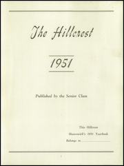 Page 3, 1951 Edition, Shawswick High School - Hillcrest Yearbook (Bedford, IN) online yearbook collection