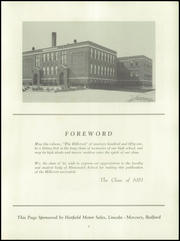 Page 5, 1951 Edition, Shawswick High School - Hillcrest Yearbook (Bedford, IN) online yearbook collection