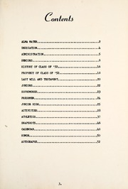 Page 7, 1952 Edition, Syracuse High School - Echo Yearbook (Syracuse, IN) online yearbook collection