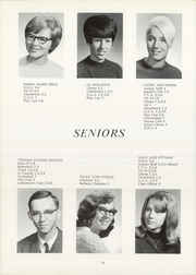 Page 16, 1968 Edition, Syracuse High School - Echo Yearbook (Syracuse, IN) online yearbook collection