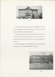 Page 6, 1968 Edition, Syracuse High School - Echo Yearbook (Syracuse, IN) online yearbook collection