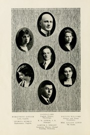 Page 10, 1922 Edition, Selma High School - Retro Yearbook (Selma, IN) online yearbook collection