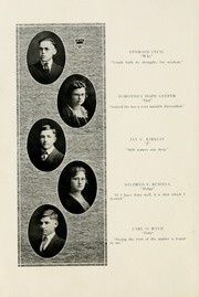 Page 14, 1922 Edition, Selma High School - Retro Yearbook (Selma, IN) online yearbook collection