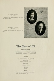 Page 15, 1922 Edition, Selma High School - Retro Yearbook (Selma, IN) online yearbook collection