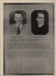 Page 10, 1952 Edition, Pierceton High School - Echoes Yearbook (Pierceton, IN) online yearbook collection