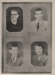 Page 13, 1952 Edition, Pierceton High School - Echoes Yearbook (Pierceton, IN) online yearbook collection