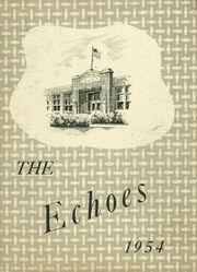 Page 1, 1954 Edition, Pierceton High School - Echoes Yearbook (Pierceton, IN) online yearbook collection