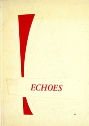 Page 1, 1958 Edition, Pierceton High School - Echoes Yearbook (Pierceton, IN) online yearbook collection