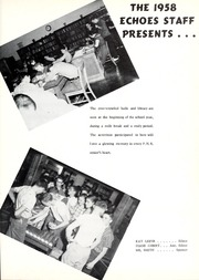 Page 5, 1958 Edition, Pierceton High School - Echoes Yearbook (Pierceton, IN) online yearbook collection