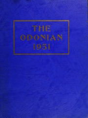 Page 1, 1951 Edition, Odon Madison High School - Odonian Yearbook (Odon, IN) online yearbook collection