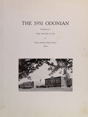 Page 3, 1951 Edition, Odon Madison High School - Odonian Yearbook (Odon, IN) online yearbook collection