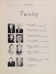 Page 7, 1951 Edition, Odon Madison High School - Odonian Yearbook (Odon, IN) online yearbook collection