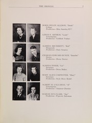 Page 9, 1951 Edition, Odon Madison High School - Odonian Yearbook (Odon, IN) online yearbook collection