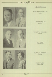 Page 16, 1934 Edition, Lincoln High School - Mayflower Yearbook (Plymouth, IN) online yearbook collection
