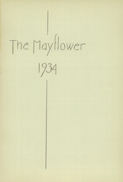Page 5, 1934 Edition, Lincoln High School - Mayflower Yearbook (Plymouth, IN) online yearbook collection