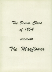Page 6, 1954 Edition, Lincoln High School - Mayflower Yearbook (Plymouth, IN) online yearbook collection