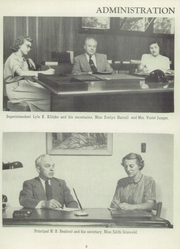 Page 9, 1954 Edition, Lincoln High School - Mayflower Yearbook (Plymouth, IN) online yearbook collection