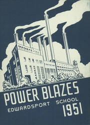 Page 1, 1951 Edition, Edwardsport High School - Power Blazes Yearbook (Edwardsport, IN) online yearbook collection