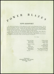 Page 5, 1951 Edition, Edwardsport High School - Power Blazes Yearbook (Edwardsport, IN) online yearbook collection