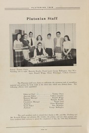 Page 10, 1949 Edition, French Lick High School - Plutocraft Yearbook (French Lick, IN) online yearbook collection