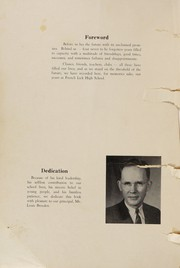 Page 4, 1949 Edition, French Lick High School - Plutocraft Yearbook (French Lick, IN) online yearbook collection
