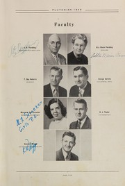 Page 9, 1949 Edition, French Lick High School - Plutocraft Yearbook (French Lick, IN) online yearbook collection