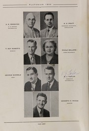 Page 16, 1950 Edition, French Lick High School - Plutocraft Yearbook (French Lick, IN) online yearbook collection