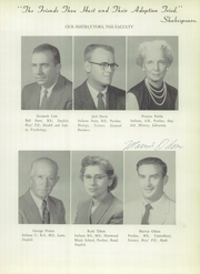 Page 11, 1956 Edition, Williamsport High School - Goldenrod Yearbook (Williamsport, IN) online yearbook collection