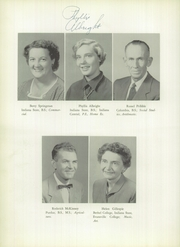 Page 12, 1956 Edition, Williamsport High School - Goldenrod Yearbook (Williamsport, IN) online yearbook collection