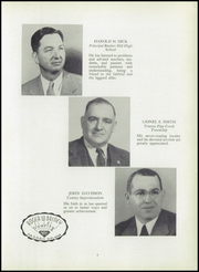 Page 9, 1951 Edition, Bunker Hill High School - Spirit Yearbook (Bunker Hill, IN) online yearbook collection