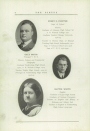 Page 10, 1920 Edition, Veedersburg High School - Pintus Yearbook (Veedersburg, IN) online yearbook collection