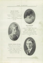 Page 11, 1920 Edition, Veedersburg High School - Pintus Yearbook (Veedersburg, IN) online yearbook collection