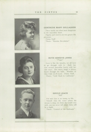 Page 15, 1920 Edition, Veedersburg High School - Pintus Yearbook (Veedersburg, IN) online yearbook collection
